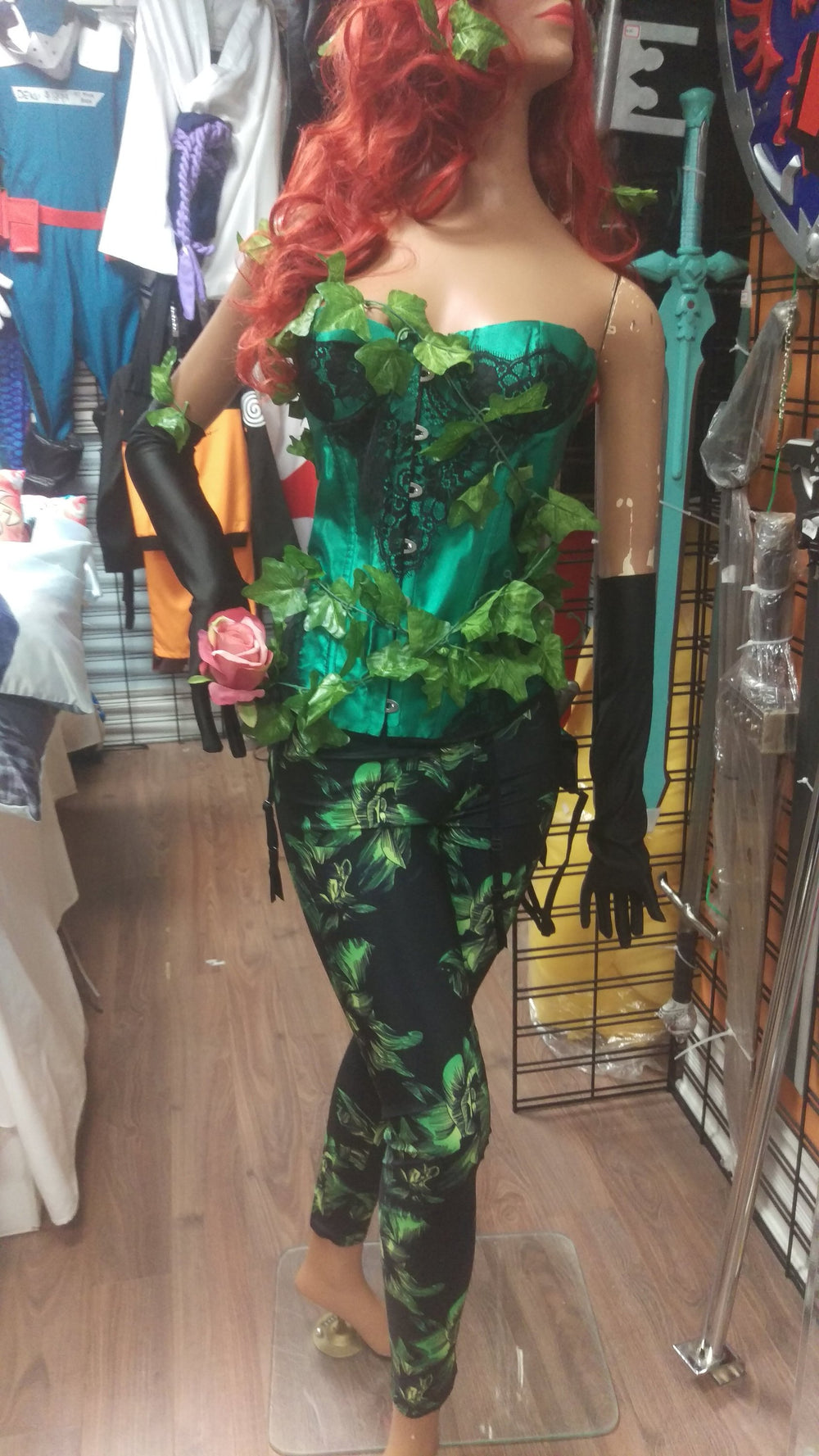 Poison Ivy Costume - Batman Costume, Halloween Costume, Cosplay, Sexy Costume