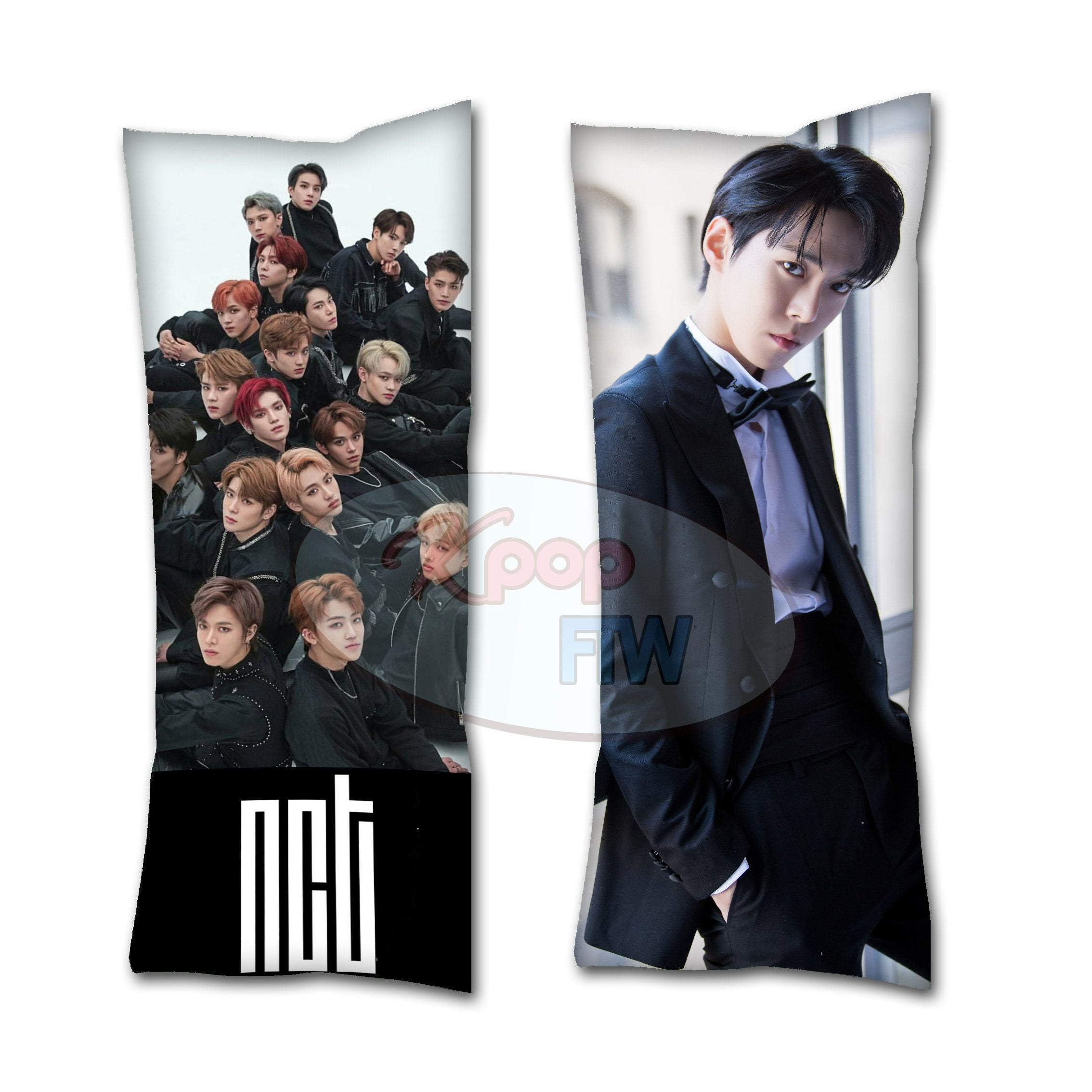 NCT 127 Doyoung Body Pillow // KPOP pillow // Valentines Day Gift