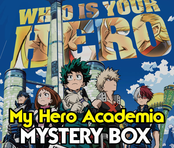 COSPLAY-FTW Exclusive Deluxe My Hero Academia Mystery Box - Christmas Gift