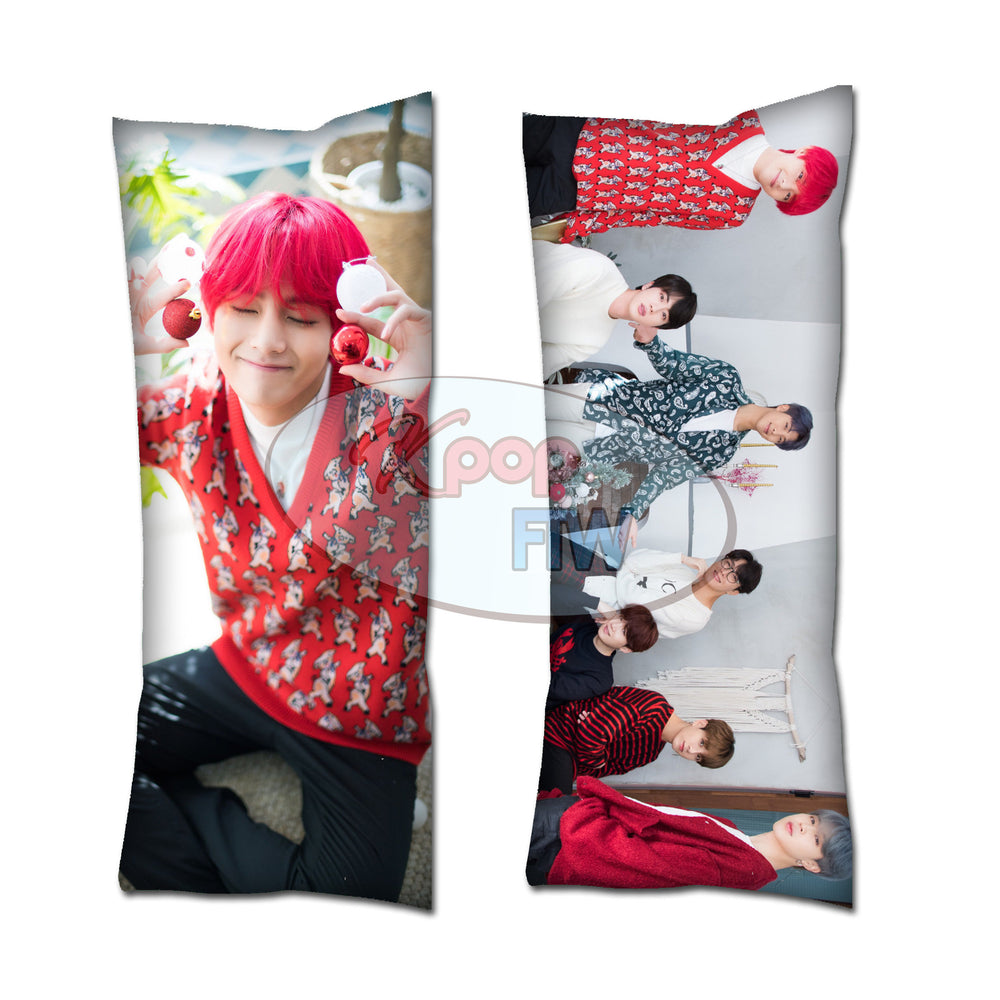 BTS Winter V Body Pillow // KPOP pillow // Valentines Day Gift
