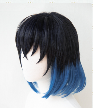 Demon Slayer Inosuke Hashibira Cosplay Wig