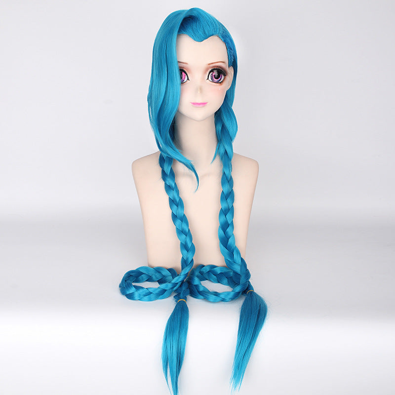 League of Legends Jinx Wig