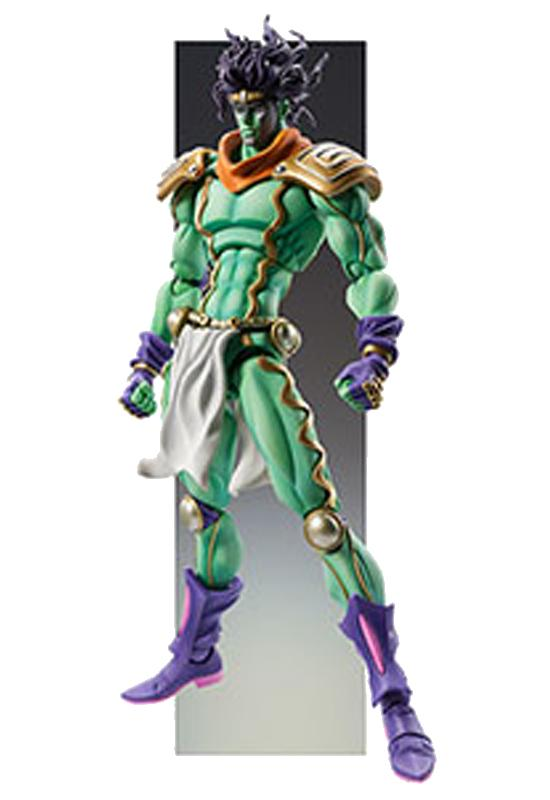 JoJo's Bizarre Adventure MEDICOS Super Action Statue BIG Part.III 1. Star Platinum Posable Figure