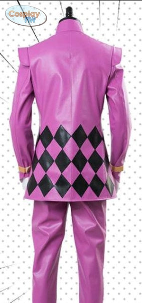 Jojos Bizarre Adventure: Golden Wind Giorno Giovanna Cosplay Costume / Giogio