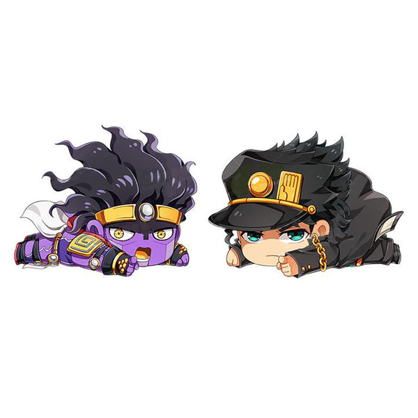 JOJO's Bizarre Adventure Jotaro Kujo / Star Platinum Plush Pillow