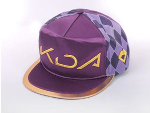 League of Legends LOL KDA K/DA Akali Hat / Akali Flat Bill Snapback