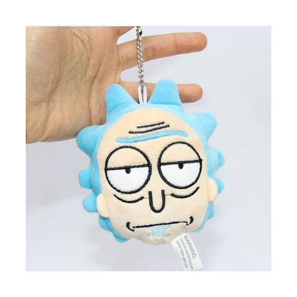 Rick and Morty Rick Face Keychain