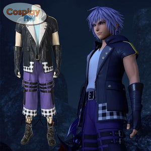 Kingdom Hearts 3 Riku Cosplay Costume / Full Set L Costume