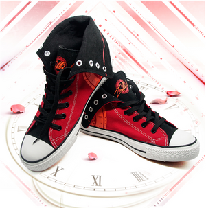 DATE A LIVE Kurumi Tokisaki Canvas High Top Sneakers