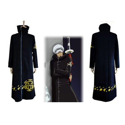 One Piece Trafalgar D. Water Law Cosplay Costume
