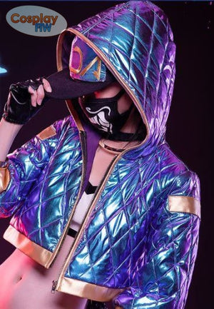 League Of Legends Kda Akali Cosplay Costume / Legends Cosplay