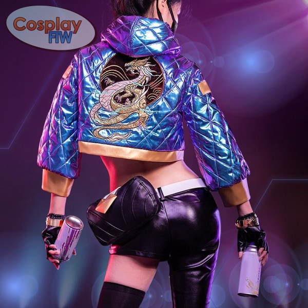 League Of Legends Kda Akali Cosplay Costume / Legends Small Cosplay