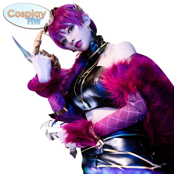 League Of Legends Kda K/da Evelynn Cosplay Costume Small Cosplay