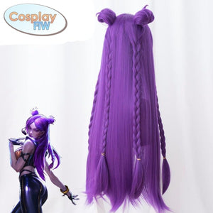 League Of Legends Kda K/da Kaisa Cosplay Wig