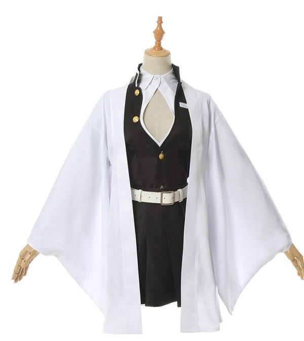 Demon Slayer Love Pillar Mitsuri Kanroji Cosplay Costume