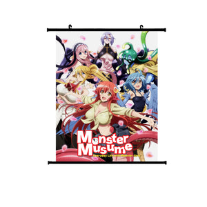 Monster Musume / Everyday Life With Monster Girls Wallscroll 1
