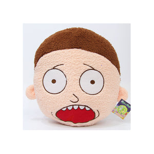 Rick and Morty Screaming Morty Face Pillow - FREESHIPPING