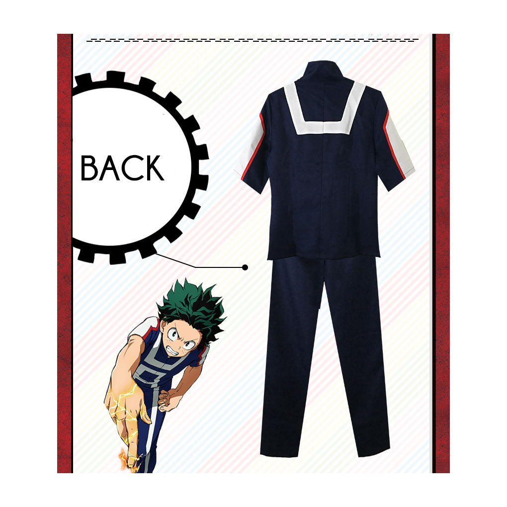 My Hero Academia Cosplay Training Uniform