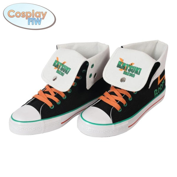 My Hero Academia Canvas Sneakers / Character Style Shoes Bakugo 36 Shoes