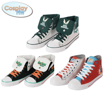 My Hero Academia Canvas Sneakers / Character Style Shoes Shoes