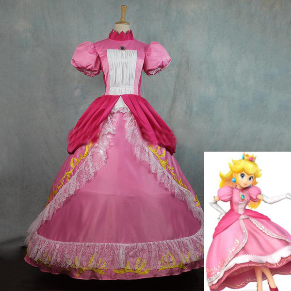 Super Mario Princess Peach Costume