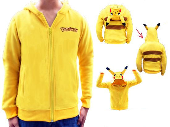 Pokemon Pikachu Zip-Up Hoodie