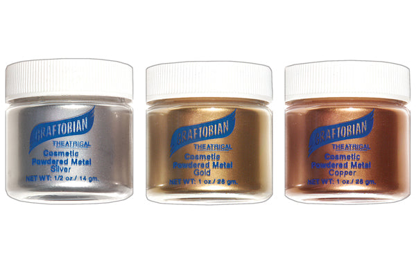Metal Mania™ - Cosmetic Powdered Metals - Silver