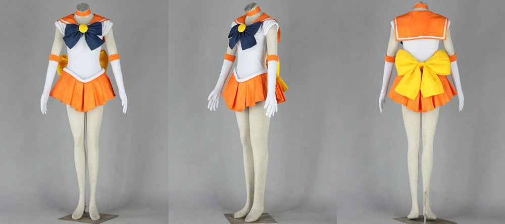 Sailor Moon Sailor Venus Cosplay Costume