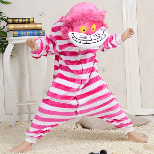 Children's Chesire Cat Kigurumi Children's Size