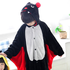 Children's Black Bat Kigurumi