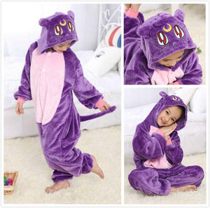 Children's Sailor Moon Luna Kigurumi