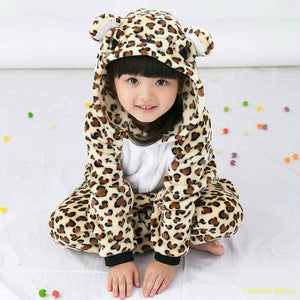 Children's Cheetah Kigurumi