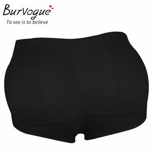 BURVOGUE Butt Lift and Hip Enhancer Shaper Black (23 cm)