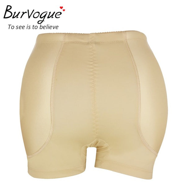 BURVOGUE Butt Lift and Hip Enhancer Shaper Beige (36 cm)
