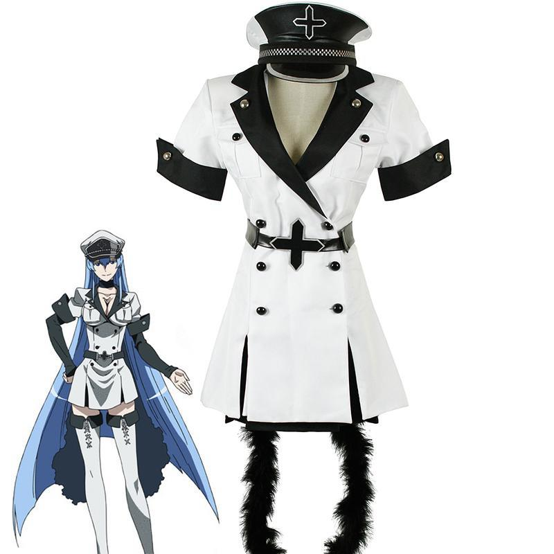 Akame ga KILL Esdeath Cosplay Costume