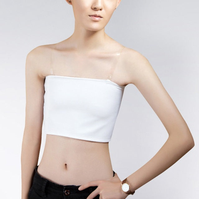 LIVA Strapless Crop Top Chest Binder