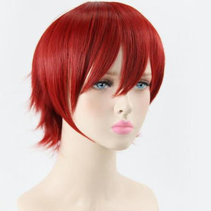 Assassination Classroom Akabane Karuma Cosplay Wig