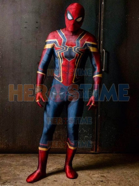 Avengers Infinity War Iron Spider Spiderman Cosplay Costume