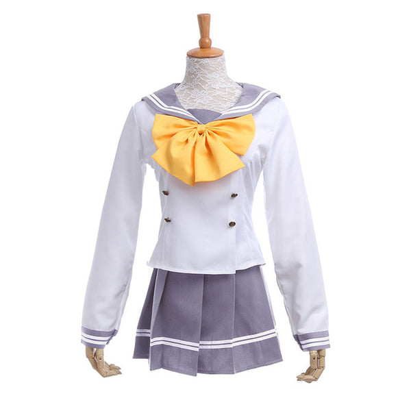 Love Live! Sunshine!! School Uniform Cosplay Costume (Yellow Bow)
