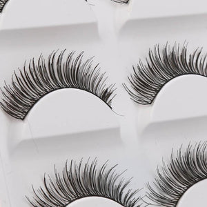 Criss-Cross Natural Blossom Eyelashes (5 pairs)