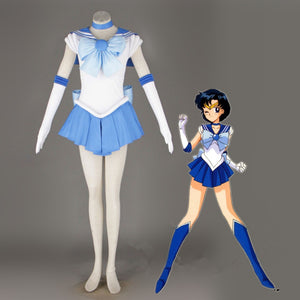 Sailor Moon Sailor Mercury Cosplay Costume