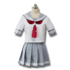 Love Live! Sunshine!! School Uniform Cosplay Costume (Blue Tie)