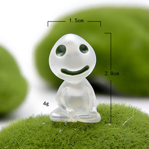 Princess Mononoke Mini Kodama Tree Spirit Figures
