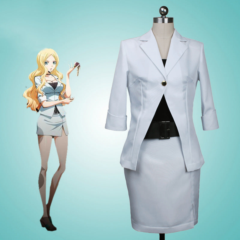 Assassination Classroom Irina Jelavich Teacher Cosplay Costume