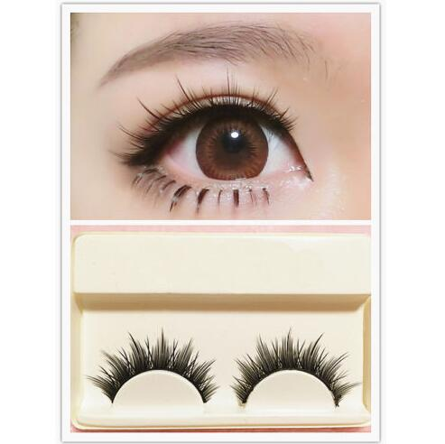 3D MINK Natural Long Cosplay Criss-Cross Eyelashes
