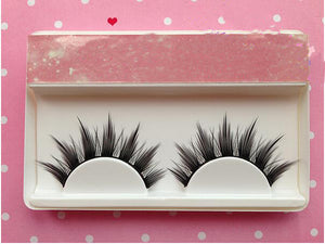 3D MINK Feather Starburst Cross Strip Eyelashes