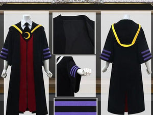 Assassination Classroom Korosensei Cosplay Costume