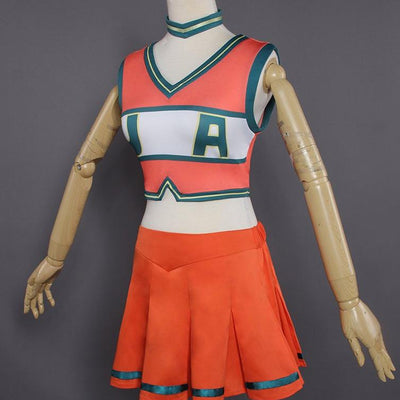 My Hero Academia UA Academy Cheerleader Uniform Cosplay Costume