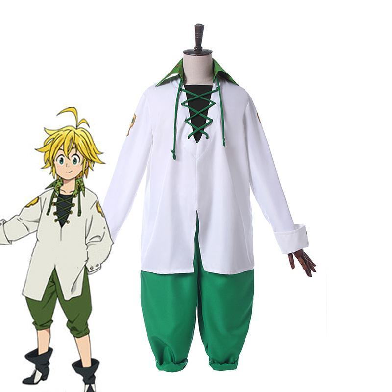 Seven Deadly Sins Cosplay Meliodas Cosplay Costume