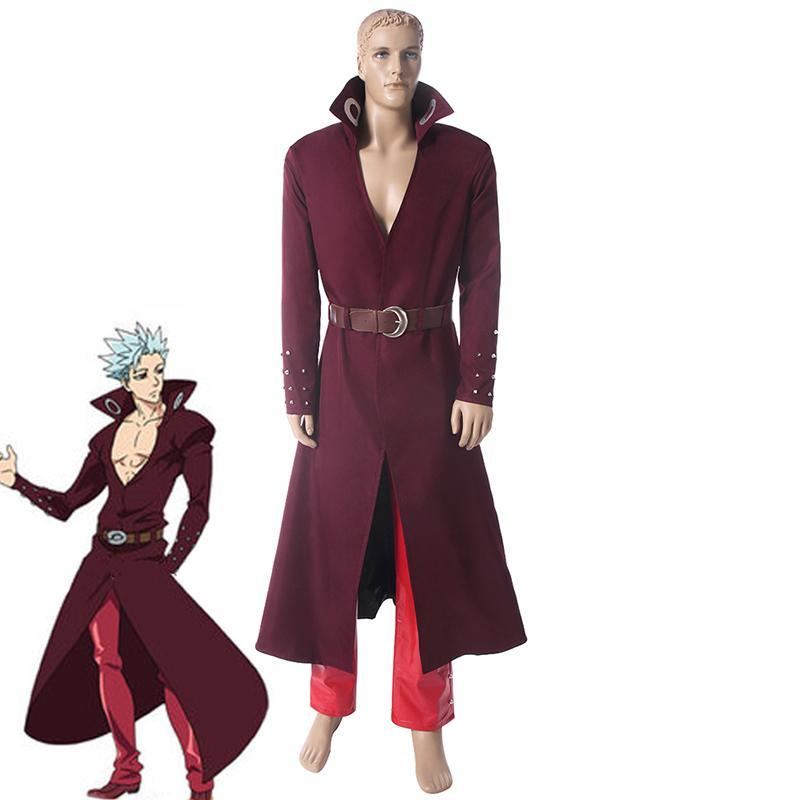 Seven Deadly Sins Ban Greed Cosplay Costume